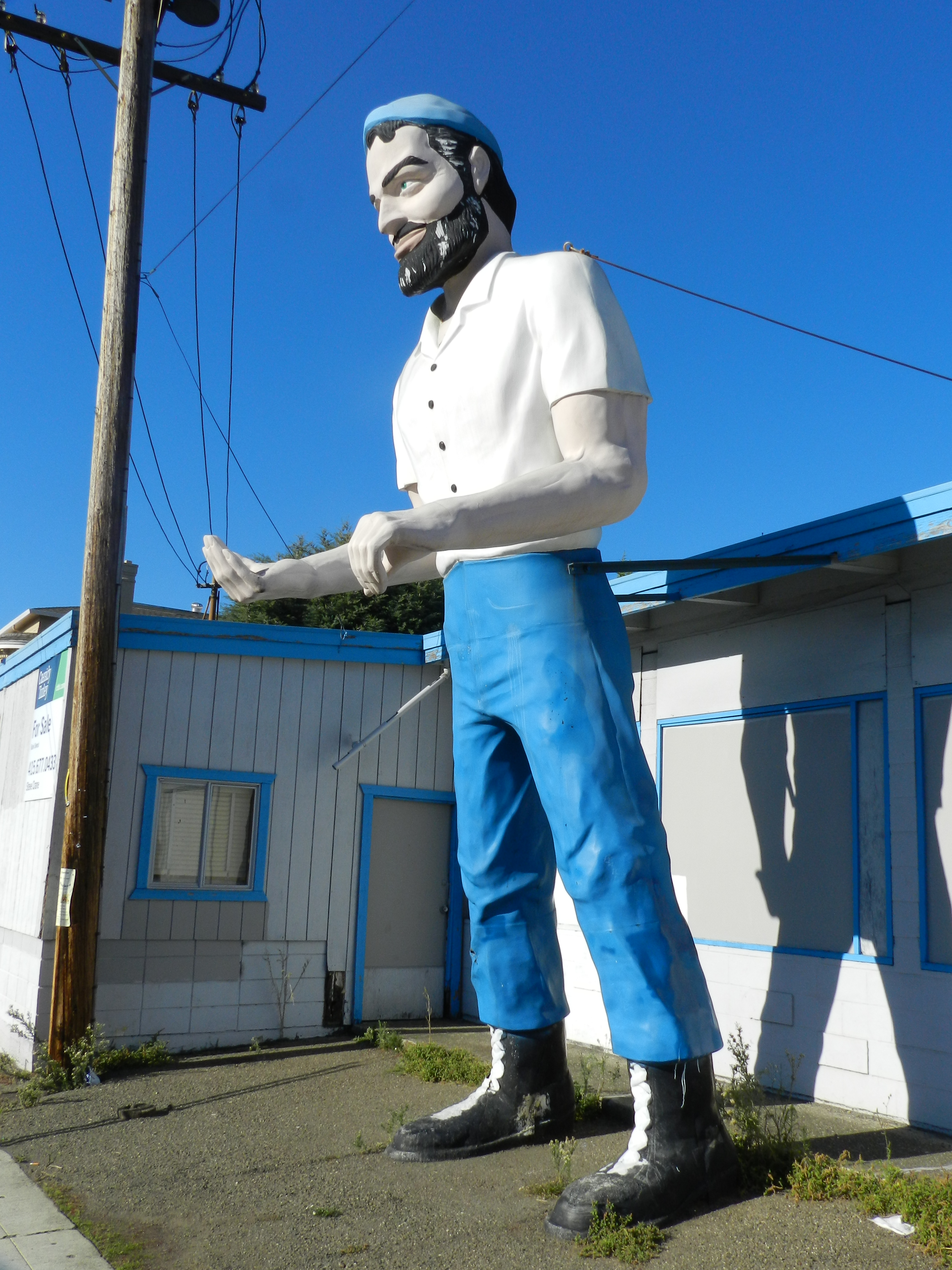 muffler man californien