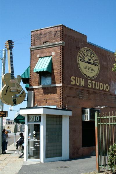Sun studio memphis tennessee pladestudie Elvis Presley