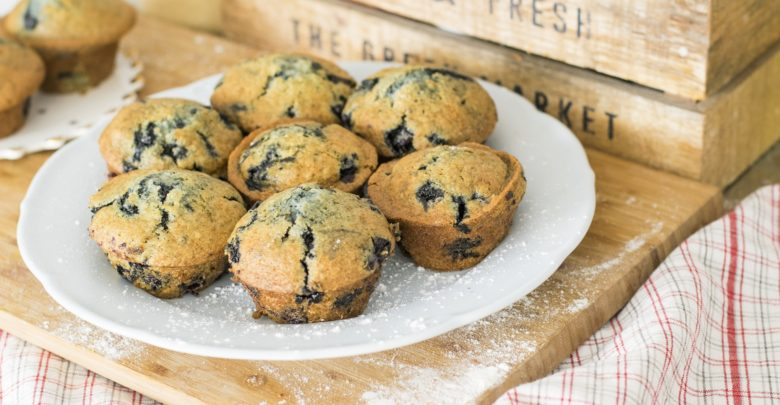 blåbærmuffins opskrift