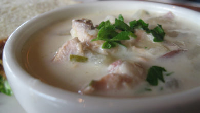 opskrift clam chowder