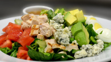 opskrift cobb salad salat
