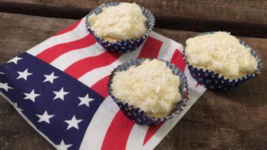 Kokosmuffins cupcakes