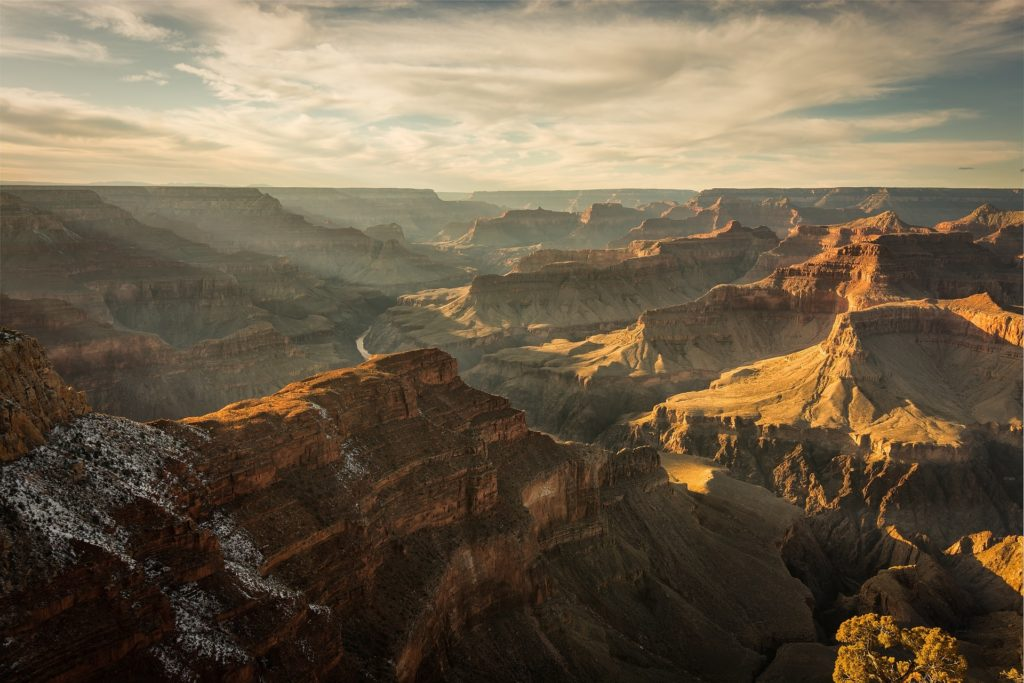 Grand canyon solopgang