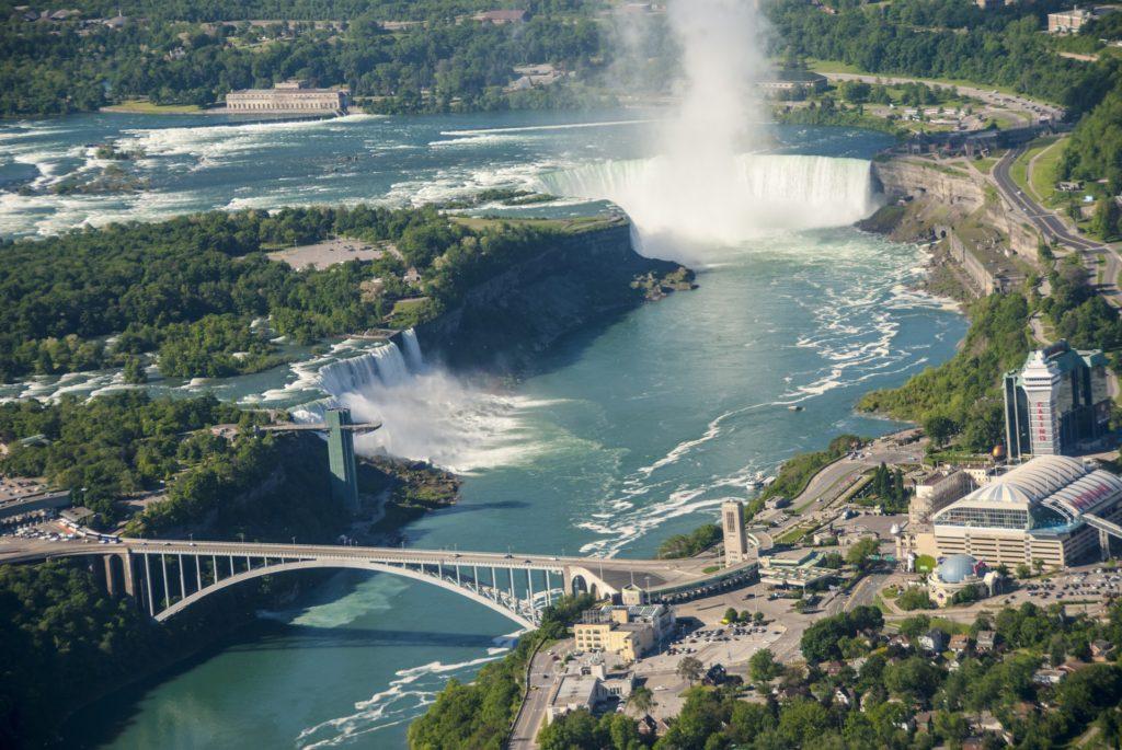 Niagara Falls oppefra