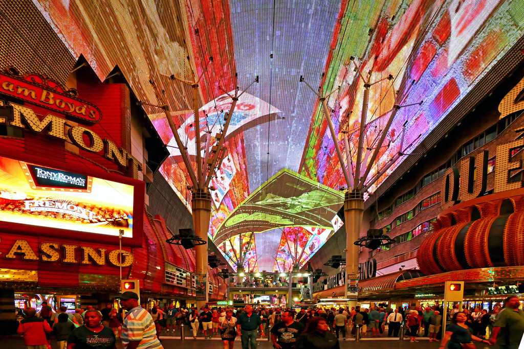 fremont street downtown