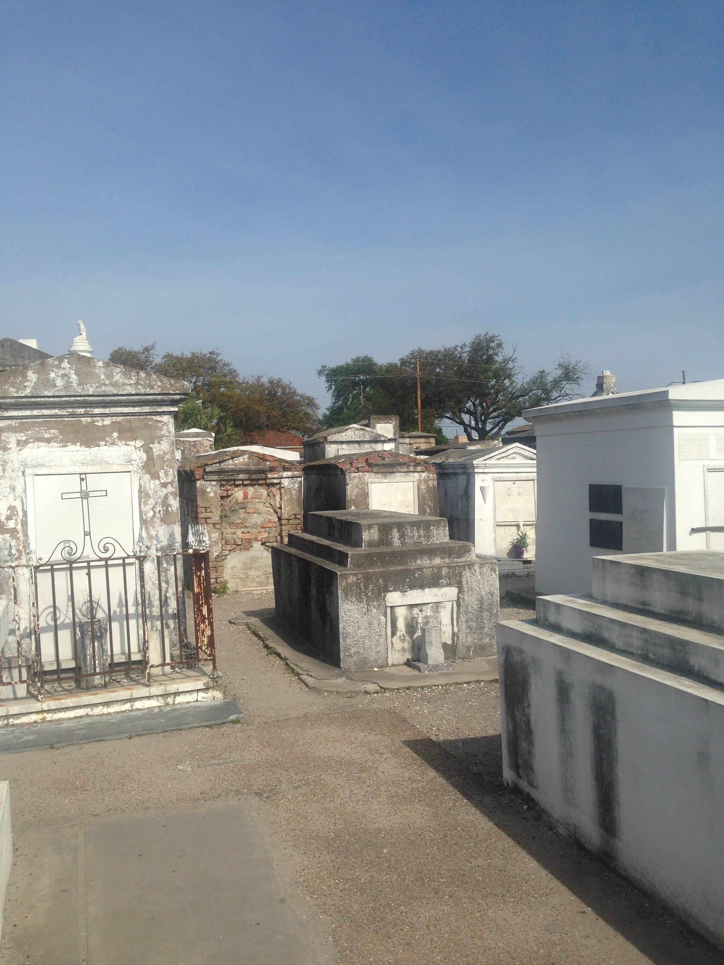new orleans kirkegård