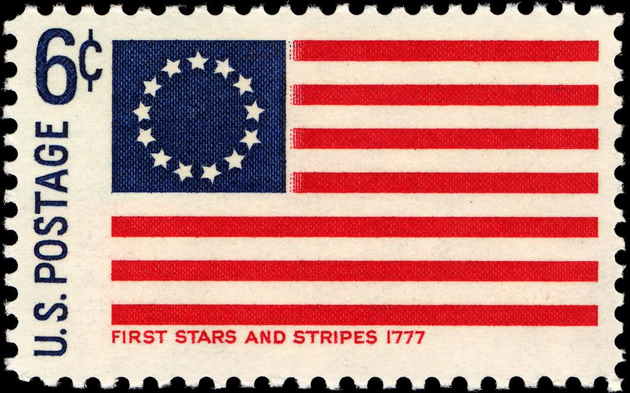første usa flag
