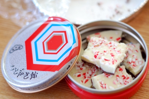 peppermint bark opskrift