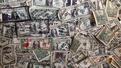 dollar bill bar oatman