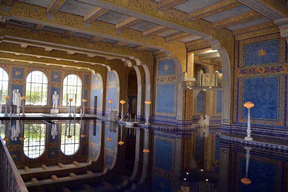 heast castle roman bath