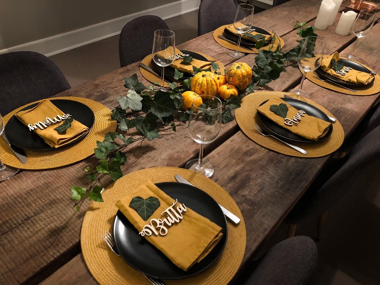 thanksgiving bord