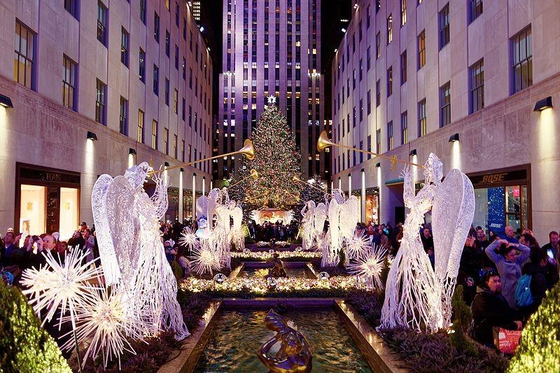 Juletræet ved Rockefeller Center