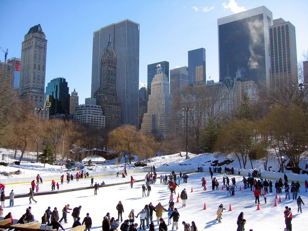 Jul i Central Park
