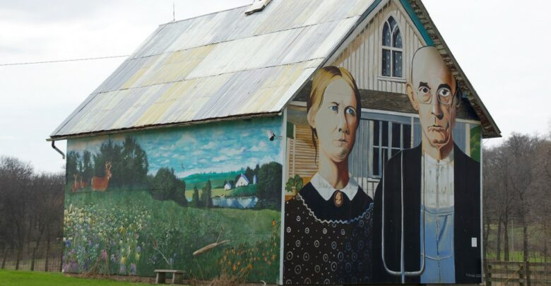 american gothic lade