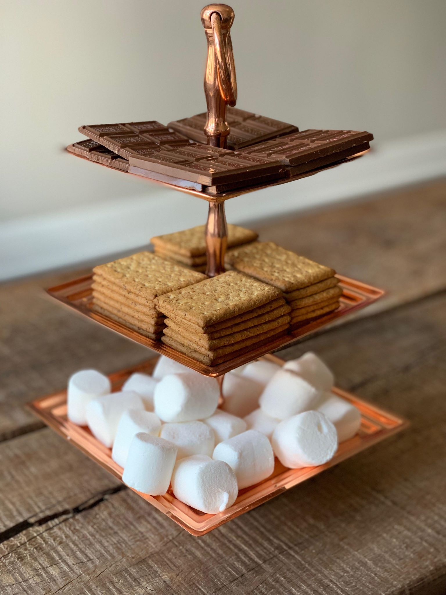 s'mores stand